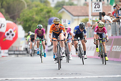 Stage 8 of the Giro Rosa - a 141.8 km road race, between Baronissi and Centola fraz. Palinuro on July 7, 2017, in Salerno, Italy. (Photo by Balint Hamvas/Velofocus.com)