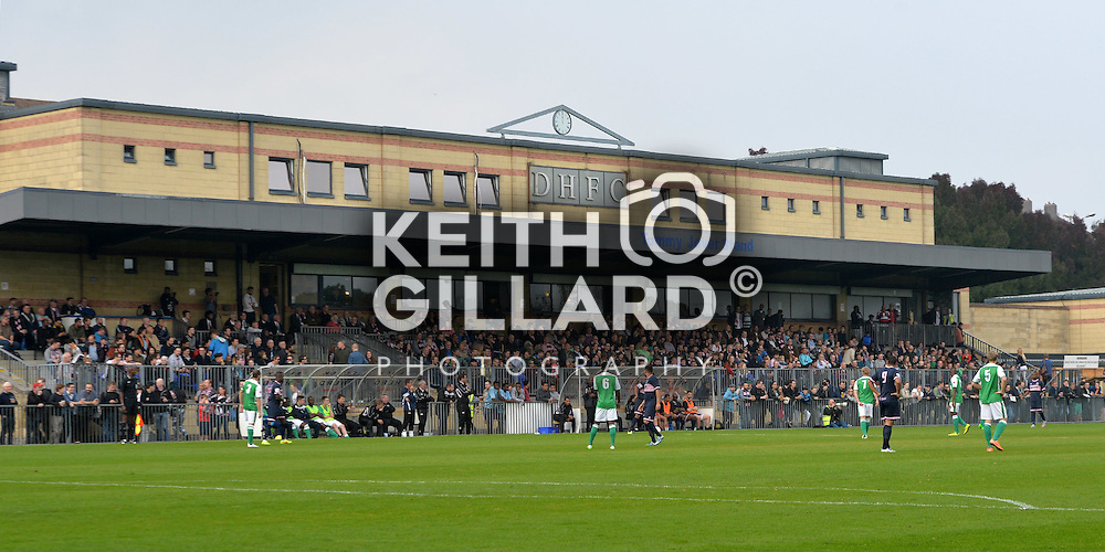 Dulwich Hamlet v VCD Athletic, Ryman Premier Division,  3, October, 2015,   <br /> at Champion Hill Stadium.  <br /> <br /> MANDATORY CREDIT: Keith Gillard