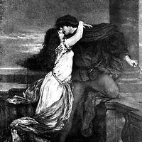 PAINTING, Romeo & Juliet