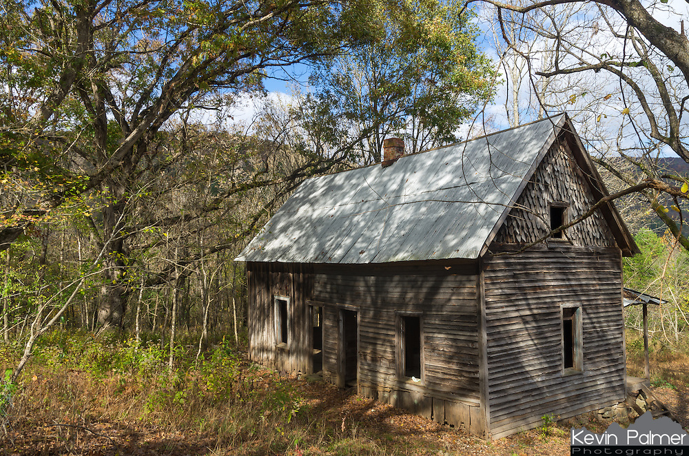 "After taking the wrong trail I accidentally came across this old cabin in the Buffalo River Valley. ""Granny Henderson"" lived here until 1979 when this became a national park. There was no electricity or running water."