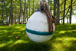 Buoy Swing, Great Island, Castine, Maine, US