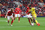 AFC Wimbledon striker Dominic Poleon (10) in action during the EFL Sky Bet League 1 match between Charlton Athletic and AFC Wimbledon at The Valley, London, England on 17 September 2016. Photo by Stuart Butcher.