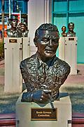 Ernie, Kovacs, Comedian, Academy of Television Arts & Sciences, Celebrity, Bronze, Sculptures, Sculptural Works, Public Art, Display, North Hollywood, CA