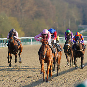 Poetic Lord and L P Keniry winning the 6.30 race