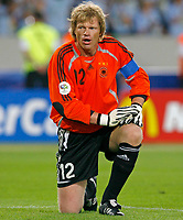 Photo: Glyn Thomas.<br />Germany v Portugal. Third Place Playoff, FIFA World Cup 2006. 08/07/2006.<br /> Germany's Oliver Kahn.