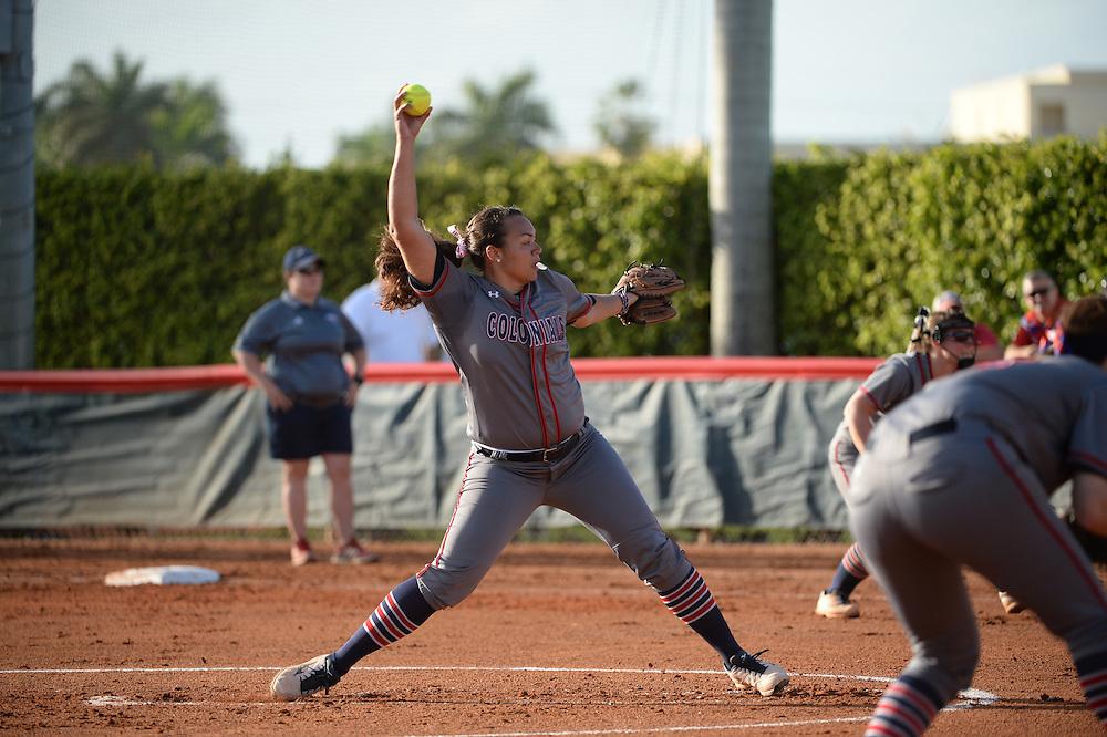 2016 Robert Morris Softball @ Florida Atlantic