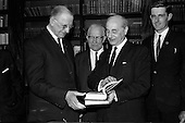 1965 - Presentation of books to President Eamon de Valera