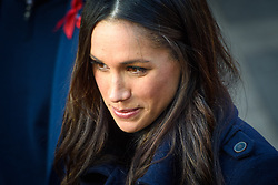 Meghan Markle during a Royal visit to Nottingham. Photo credit should read: M6027D/EMPICS Entertainment