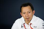 June 8-11, 2017: Canadian Grand Prix. Yusuke Hasegawa, Honda F1 chief