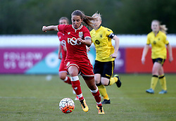 Tatiana Pinto of Bristol City Women runs with the ball - Mandatory by-line: Robbie Stephenson/JMP - 02/01/2012 - FOOTBALL - Stoke Gifford Stadium - Bristol, England - Bristol City Women v Aston Villa Ladies - FA Women's Super League 2