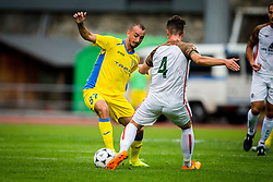 Benjamin Morel of NK Domzale during football match between NK Domzale and FC Lusitanos Andorra in second leg of UEFA Europa league qualifications on July 7, 2016 in Andorra la Vella, Andorra. Photo by Ziga Zupan / Sportida