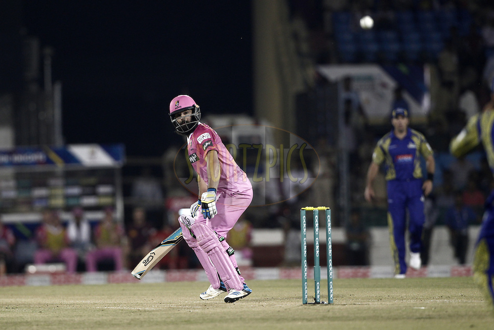 Anton Devcich of the NORTHERN KNIGHTS bats during match 3 of the Oppo Champions League Twenty20 between the Cape Cobras and the Northern Knights held at the Chhattisgarh International Cricket Stadium, Raipur, India on the 19th September 2014<br /> <br /> Photo by:  Deepak Malik / Sportzpics/ CLT20<br /> <br /> <br /> Image use is subject to the terms and conditions as laid out by the BCCI/ CLT20.  The terms and conditions can be downloaded here:<br /> <br /> http://sportzpics.photoshelter.com/gallery/CLT20-Image-Terms-and-Conditions-2014/G0000IfNJn535VPU/C0000QhhKadWcjYs