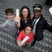 24.05.2018.       <br /> The Limerick Institute of Technology with Atlantic Air Adventures and funding from the Aviation Skillnet presented over forty certificates to Aviation professionals who have completed the Certificate in Aviation, The Aircraft Records Technician Level 7 and Part 21 Design, Level 7.<br /> <br /> Pictured at the event were, Aviation in Special Purpose Award recipients, Elizabeth Byrne, UJET, Barry Neylon, Lufthansa Technik, Lorraine Meaney, Boeing and Vincent Banda, LIT.<br /> <br /> LIT in partnership with Atlantic Air Adventures, CAE Parc Aviation, Part 21 Design and industry experts such as Anton Tams, GECAS, Don Salmon, CAE Parc Aviation and Mick Malone, Part 21 Design have developed and deliver these key training programmes with funding for aviation companies provided by The Aviation Skillnet.<br /> <br /> . Picture: Alan Place