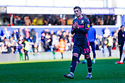 Leeds United midfielder Pablo Hernandez (19) reacts during the EFL Sky Bet Championship match between Queens Park Rangers and Leeds United at the Kiyan Prince Foundation Stadium, London, England on 18 January 2020.