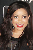 Dionne Bromfield was attending Blackberry's BBM Event - a celebration of the smartphone's free instant messaging app. The Bankside Vaults, London, UK. April 03, 2012. (Photo by Brett Cove)