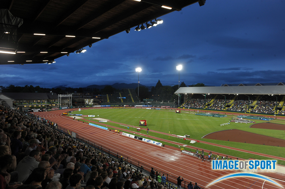 Jun 1, 2012; Eugene, OR, USA; General view of the Kenyan Olympic Trials 10,000m in the 2012 Prefontaine Classic at Hayward Field.
