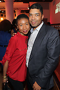 19 November-New York, NY: Author Raquiah Mays and Keith Clinkscales, CEO, Revolt TV attends the 4th Annual WEEN (Women in Entertainment Empowerment Network) Awards held at Helen Mills Theater on November 19, 2014 in New York City.  (Terrence Jennings)