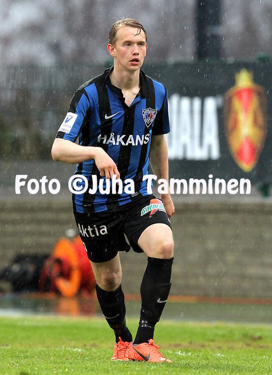 29.4.2013, Veritas Stadion, Kupittaa, Turku..Veikkausliiga 2013..FC Inter Turku - FF Jaro..Juuso Hämäläinen - Inter.