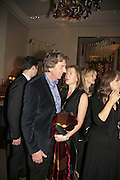 Nick Cook and Eimear Montgomerie, THE CHRISTMAS PARTY CELEBRATING THE 225TH ANNIVERSARY OF ASPREY. 167 NEW BOND ST. LONDON W1. 7 DECEMBER 2006. ONE TIME USE ONLY - DO NOT ARCHIVE  © Copyright Photograph by Dafydd Jones 248 CLAPHAM PARK RD. LONDON SW90PZ.  Tel 020 7733 0108 www.dafjones.com