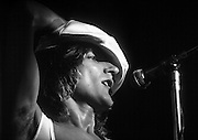 PHOTOGRAPH BY HOWARD BARLOW.ROD STEWART.Manchester  KING'S HALL, BELLE VUE 1976.