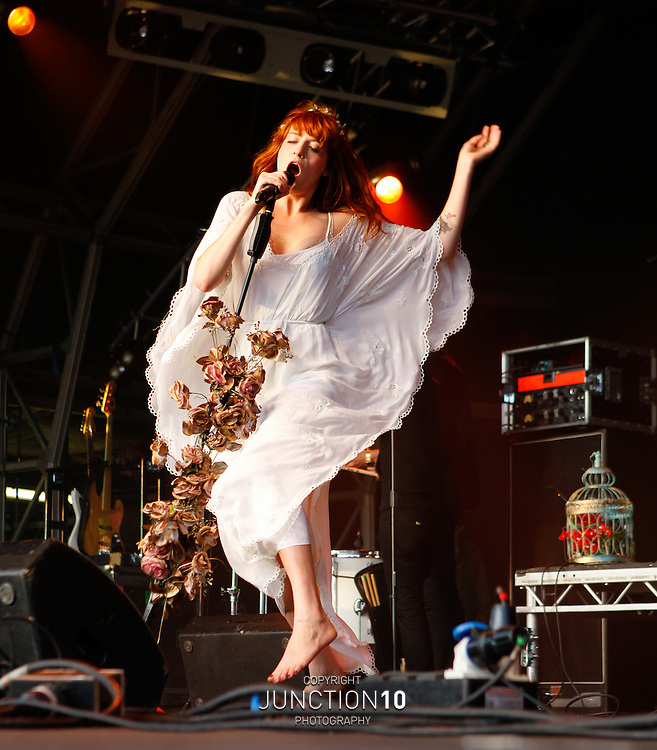Florence and the Machine performs At The Camp Bestival - Lulworth Castle, United Kingdom<br /> Picture Date: 24 July, 2009