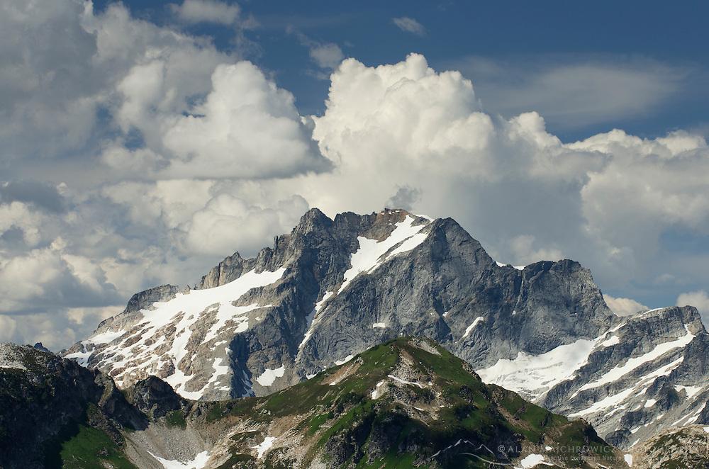 Dome Peak seen from Miner's Ridge, Glacier Peak Wilderness, North Cascades Washington