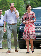 Duke & Duchess of Cambridge Visit Panbari Village