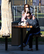 **EXCLUSIVE**.Madonna's Ex- Partner, Chris Paciello, who is under Federal witness Protection for testifying against his Mob Associates was spotted on Robertson Blvd and at Abby Restaurant buying a latte with what it looks like to be his wife and son. He was driving a white Range Rover. Later the family went to West Hollywood Park and while Chris relax and sip on his latte, they watch their son play...West Hollywood, CA, USA.Saturday January 13, 2007.Photo By Celebrityvibe.com.To license this image please call (212) 410 5354; or.Email: celebrityvibe@gmail.com ;.Website: www.celebrityvibe.com