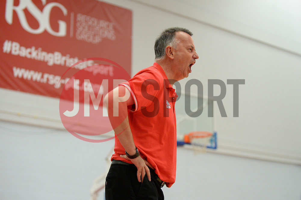 Nick Burns of Bristol Flyers - Photo mandatory by-line: Dougie Allward/JMP - 17/09/2016 - BASKETBALL - SGS Wise Arena - Bristol, England - Bristol Flyers v Worcester Wolves - Exhibition Game