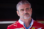 February 26, 2017: Circuit de Catalunya. Maurizio Arrivabene, team principal of Scuderia Ferrari