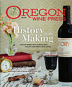 Cover of Stoller wine project featuring old vine cabernet.