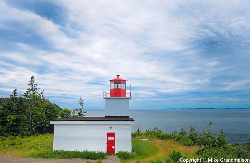 Long Eddy Point Lighthouse <br /> Grand Manan Island<br /> New Brunswick<br /> Canada