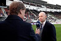 (L-R) *Hans Kraay jr*, coach *Marcel Keizer* of Ajax