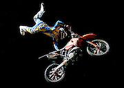 © Filippo Alfero<br /> Torino, 26-05-2007<br /> Sport Supermoto<br /> Magic For Fun - Campionato del Mondo SuperMoto - Gran Premio d'Italia<br /> nella foto: uno dei salti dell'esibizione di motocross freestyle<br /> © Filippo Alfero<br /> Turin, Italy - 26-05-2007<br /> Magic For Fun - World Championship Supermoto - Grand Prix of Italy<br /> in the photo: one of the jumps of the motocross freestyle show