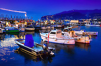 &ldquo;Fishing boats resting on blue glass water - Sorrento Marina Grande&rdquo;&hellip;<br />