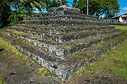 Tia Seu Lupe, burial mound, American Samoa, South Pacific