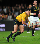 Adam Ashley-Cooper from Australia during the Tri Nations Test match between South Africa and Australia at the Kingspark Stadium in Durban on 13 Aug 2011..© Gerhard Steenkamp/Superimage
