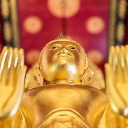 Gold Red Buddha