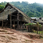 Lakkhamma Village in Luang Namtha province in northern Laos. Lakkhamma Village was established as a joint project between the Lao government and the European Commission.