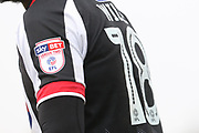 Sky Bet logo during the EFL Sky Bet League 2 match between Grimsby Town FC and Cheltenham Town at Blundell Park, Grimsby, United Kingdom on 3 February 2018. Picture by Antony Thompson.