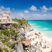 Tulum Mayan Ruins / Quintana Roo / Mexico