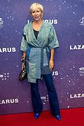 Premiere musical  David Bowie's Lazarus in DeLaMar, Amsterdam.<br /> <br /> Op de foto:  Monique des Bouvrie