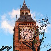 Big Ben, north tower of the British Houses of Parliament, London, England, UK<br />