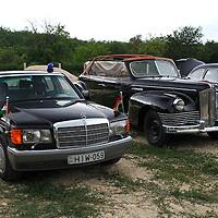 1985 Mercedes-Benz W126 420 SEL - Janos Kadar's Car, and 1946 ZIS 110V, OldRent Socialist Cars Budapest 2009