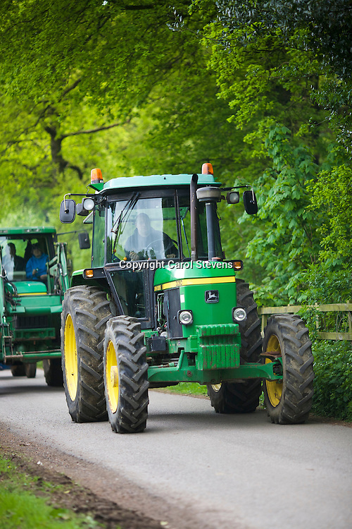 Priory Rose Vintage Group Tractor Run, Wakefield Sunday 15 May 2016 in aid of Yorkshire Air Amulance