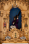 Campanha_MG, Brasil...Imagem de Jesus Cristo na Capela do Santissimo, Catedral de Santo Antonio, em Campanha...Jesus Christ image in the Blessed chapel, Cathedral of Santo Antonio, in Campanha...Foto: LEO DRUMOND / NITRO.....