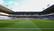 General view inside the Constant Vanden Stock Stadium before the UEFA Europa League Quarter-final, Game 1 match between Anderlecht and Manchester United at Constant Vanden Stock Stadium, Anderlecht, Belgium on 13 April 2017. Photo by Phil Duncan.