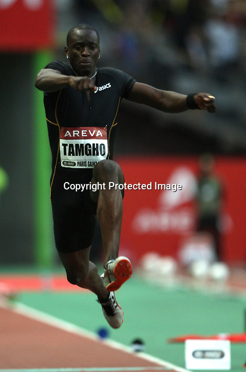 Teddy Tamgho in action at the triple jump event, at the IAAF Golden League Track and Field meeting on 17 July 2009 in Paris, France. Photo: Panoramic/PHOTOSPORT *** Local Caption ***