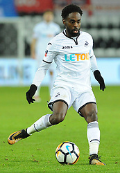 Nathan Dyer of Swansea City in action- Mandatory by-line: Nizaam Jones/JMP - 27/02/2018 - FOOTBALL - Liberty Stadium - Swansea, Wales-Swansea City v Sheffield Wednesday - Emirates FA Cup fifth round proper