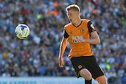 Hull City midfielder Sam Clucas on the ball during the Sky Bet Championship match between Brighton and Hove Albion and Hull City at the American Express Community Stadium, Brighton and Hove, England on 12 September 2015. Photo by Phil Duncan.